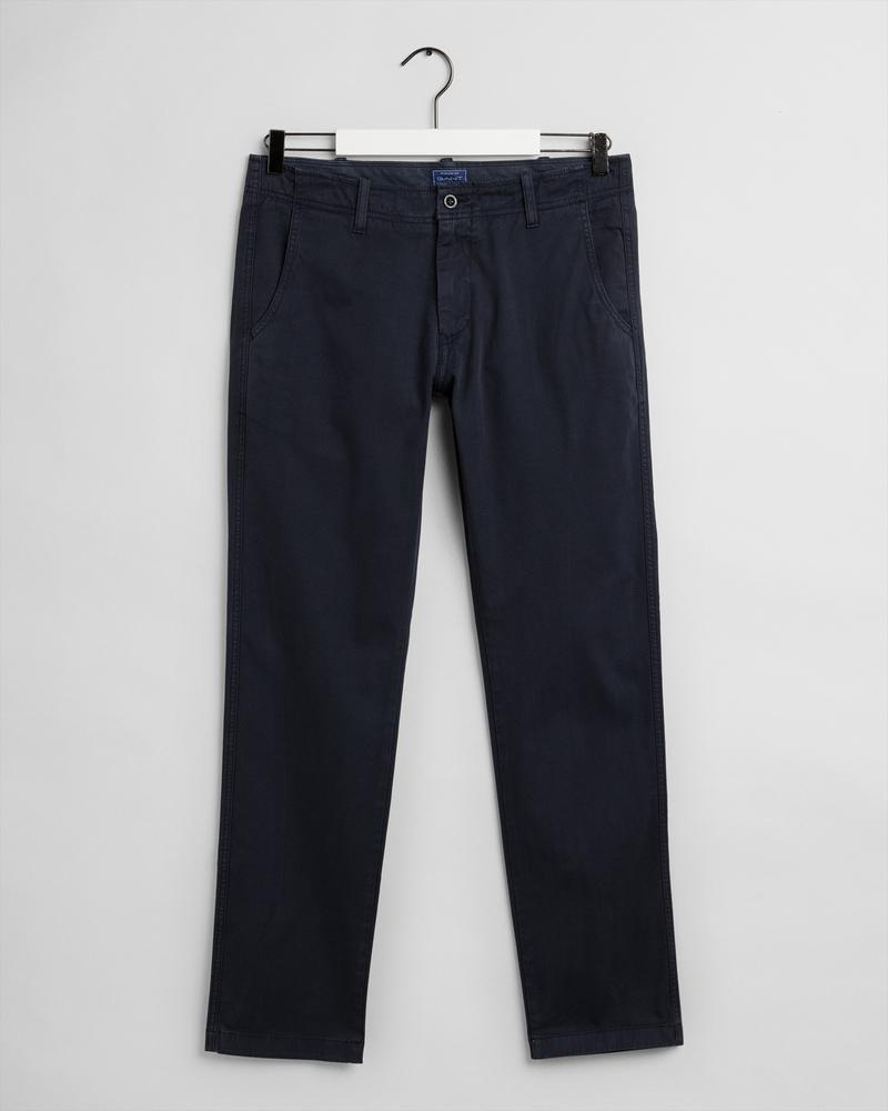 Gant Erkek Lacivert Slim Fit Pantolon