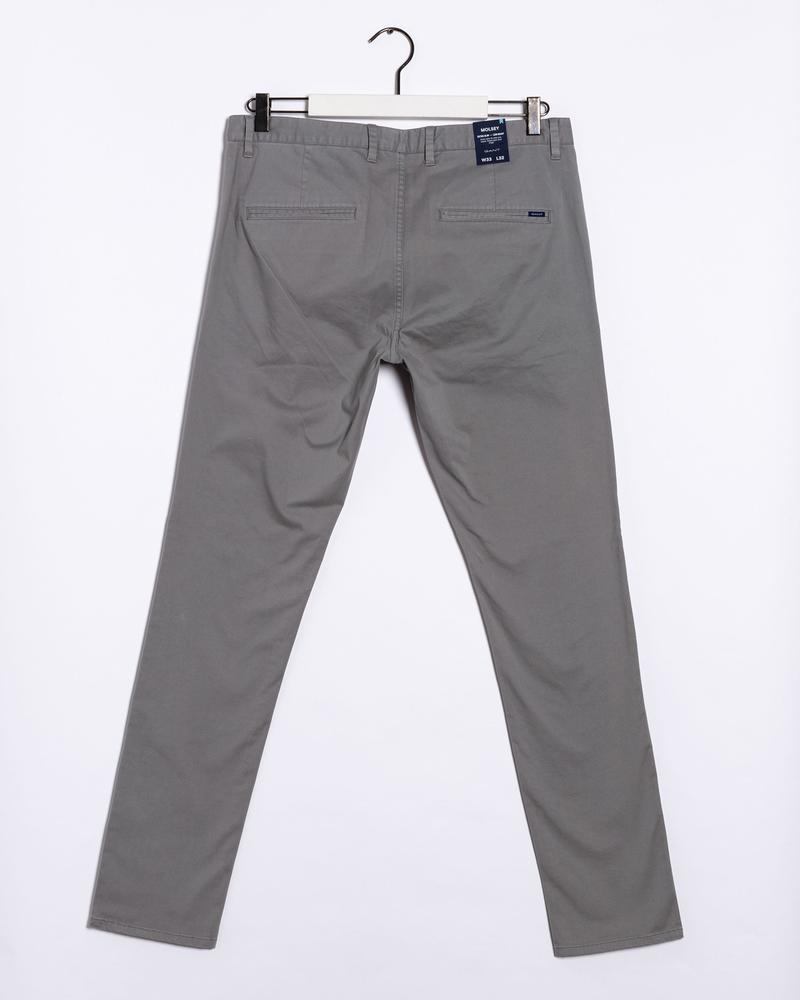 Gant Erkek Gri Extra Slim Fit Pantolon