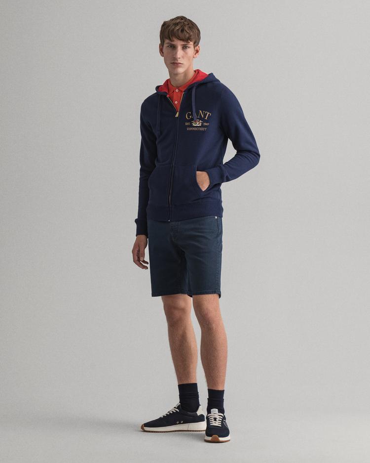 Gant Erkek Lacivert Sweatshirt