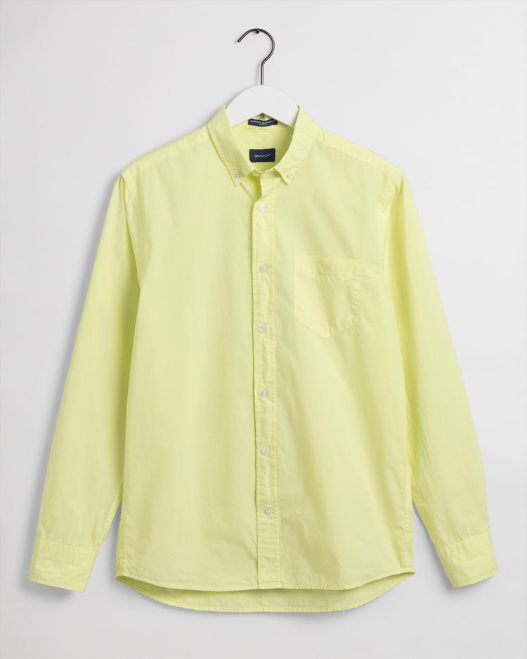 Gant Erkek Sarı Regular Fit Gömlek