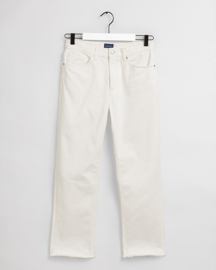 Gant Kadın Krem Pantolon