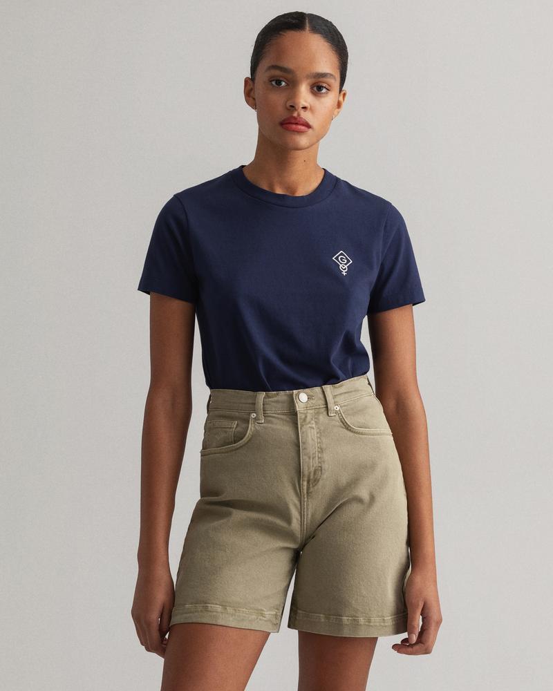Gant Kadın Lacivert T-Shirt