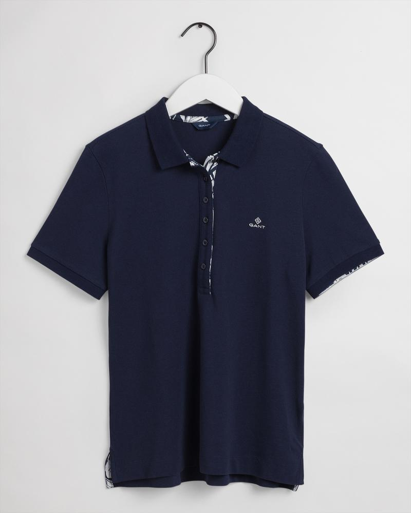 Gant Kadın Lacivert Regular Fit Polo
