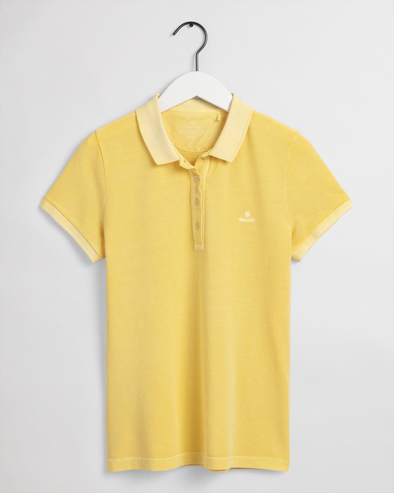Gant Kadın Sarı Regular Fit Polo