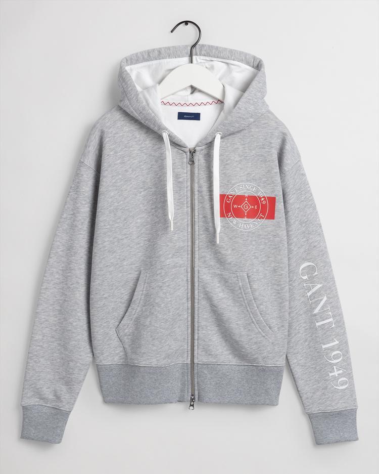 Gant Kadın Gri Sweatshirt