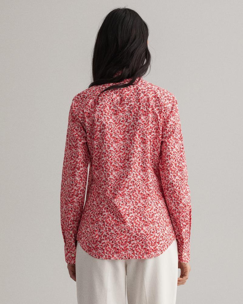 GANT Kadın Pembe Floral Desenli Gömlek