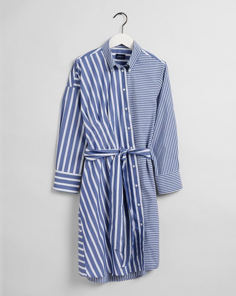 GANT Kadın Mavi Desenli Elbise