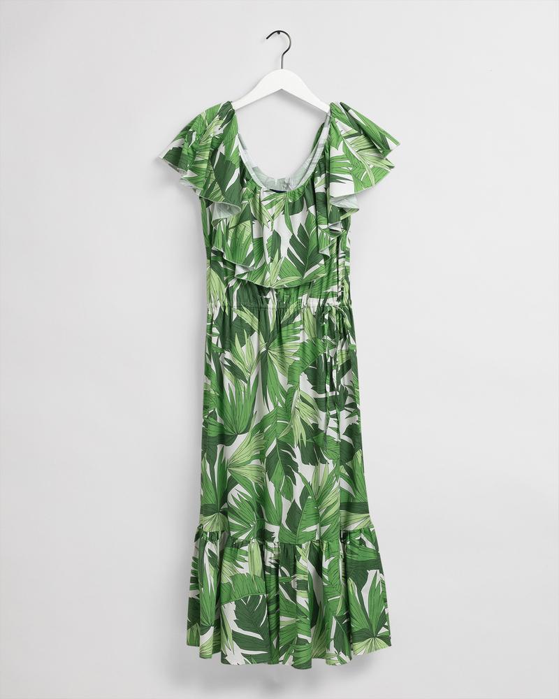 GANT Kadın Yeşil Desenli Elbise