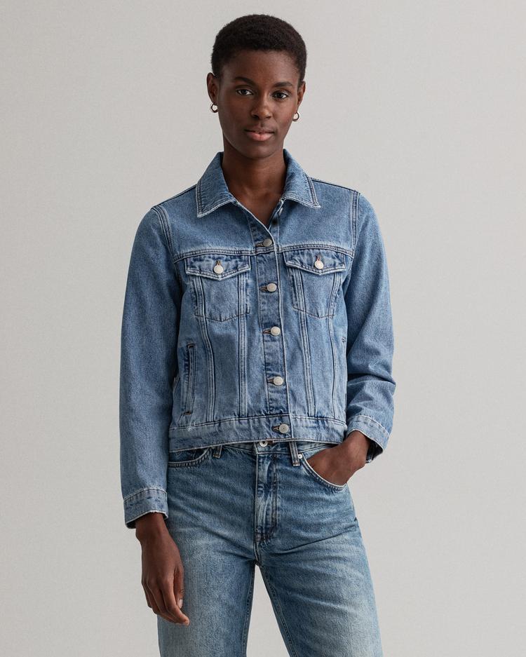 Gant Kadın Denim Ceket