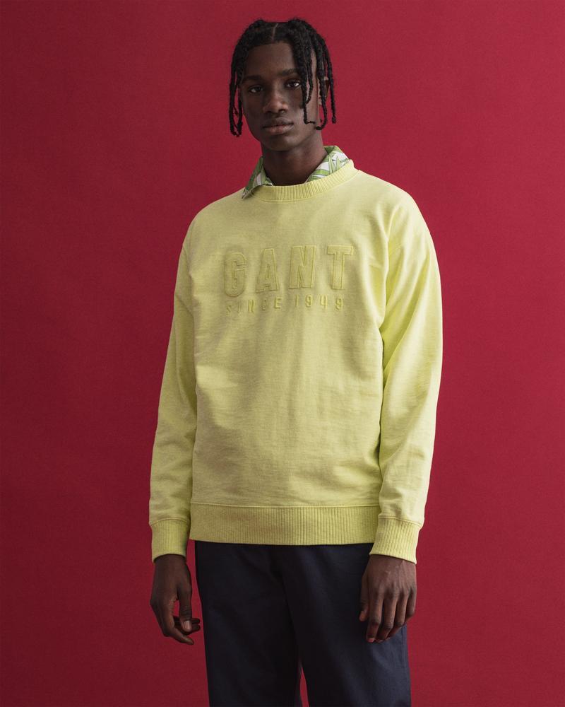 GANT Erkek Sarı Sweatshirt