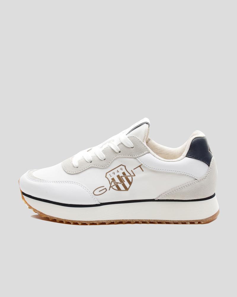 Gant Kadın Beyaz Deri Sneaker
