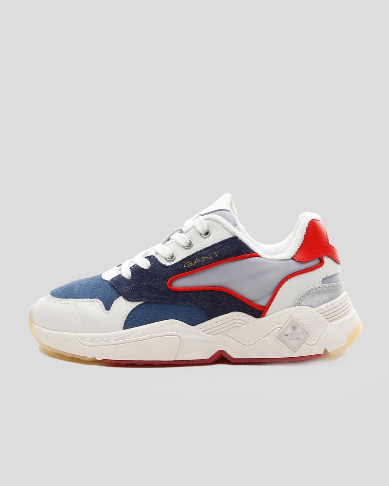 Gant Kadın Mavi Deri Sneaker