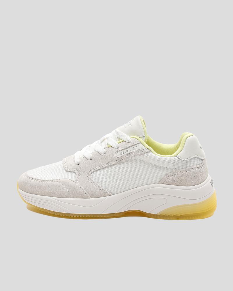 Gant Kadın Beyaz Süet Sneaker