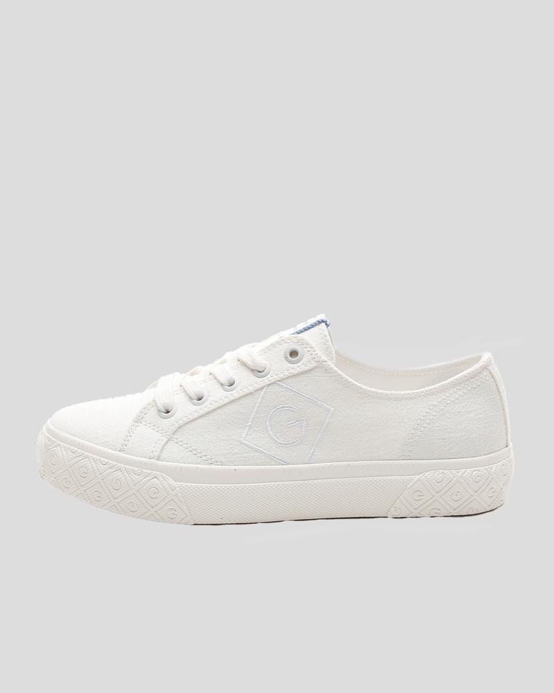 Gant Kadın Beyaz Kanvas Sneaker