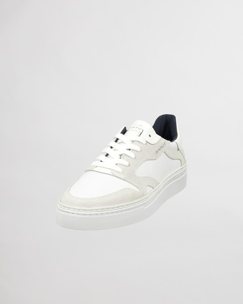 Gant Erkek Beyaz Süet Sneaker