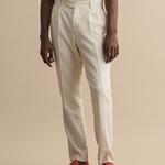 Gant Erkek Krem Slim Fit Pantolon