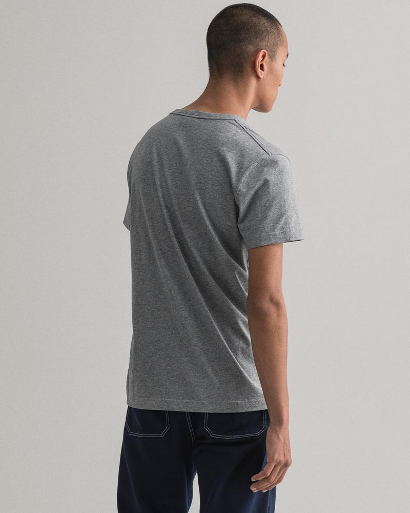 GANT Erkek Gri Regular Fit Tshirt