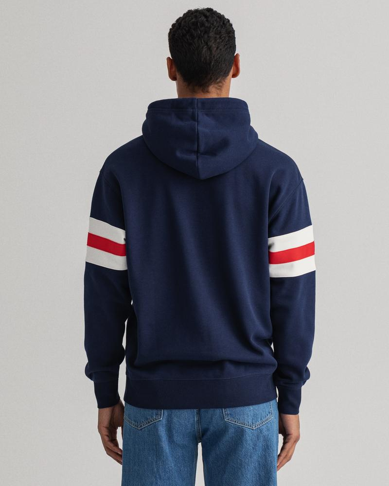 GANT Erkek Lacivert Relaxed Fit Sweatshirt
