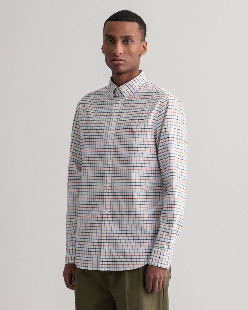 Gant Erkek Turuncu Regular Fit Gömlek