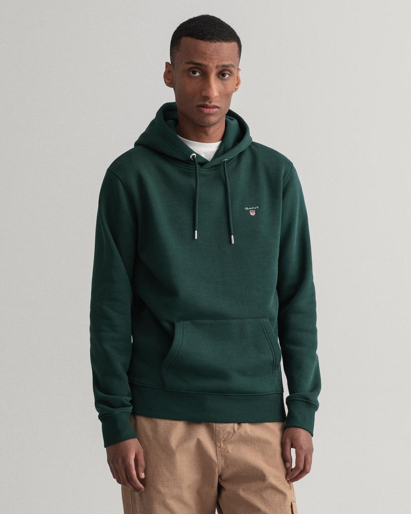 Gant Erkek Yeşil Regular Fit Uzun Kollu Sweatshirt