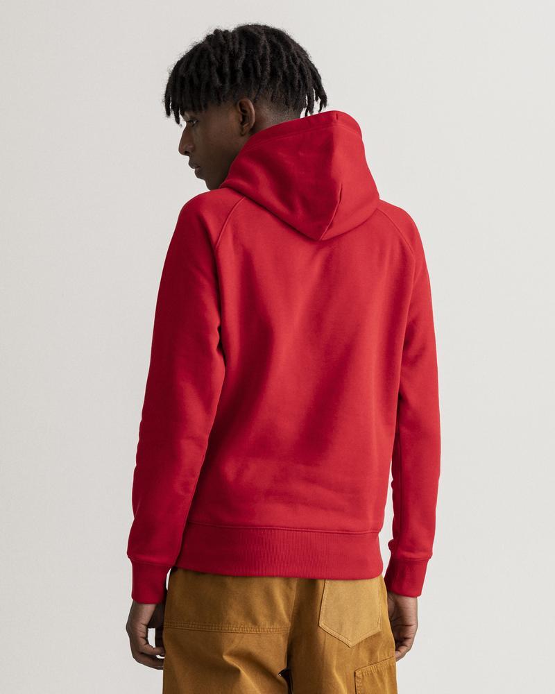 GANT Erkek Kırmızı Regular Fit Sweatshirt