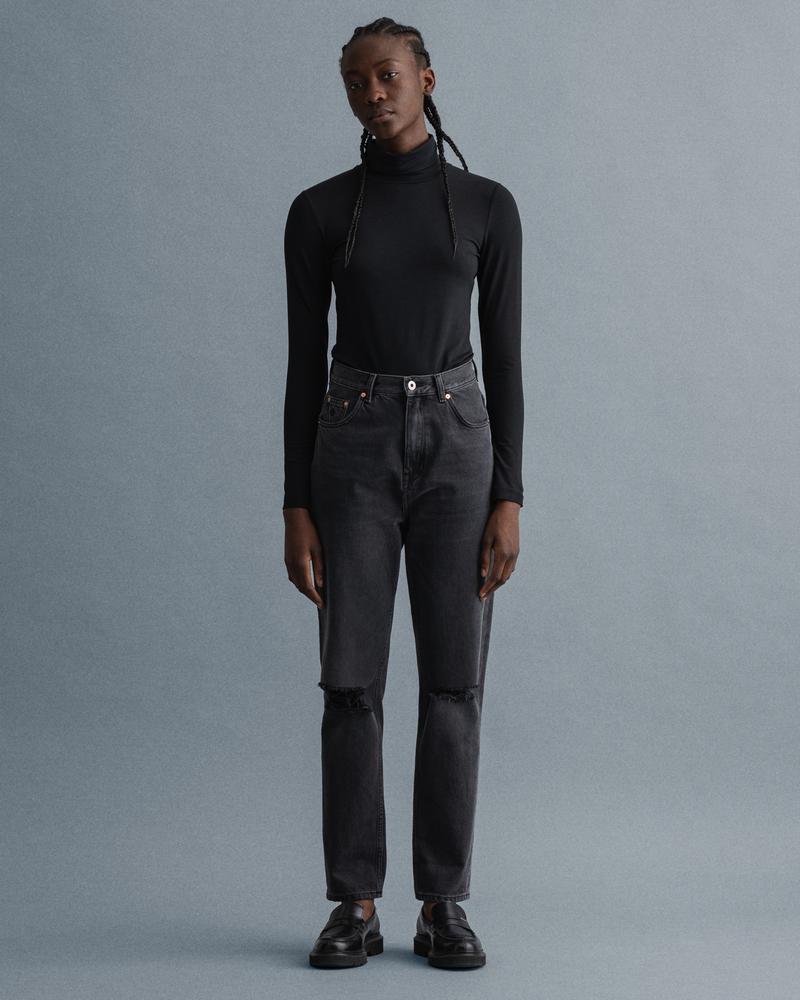 Gant Kadın Siyah Jean Pantolon