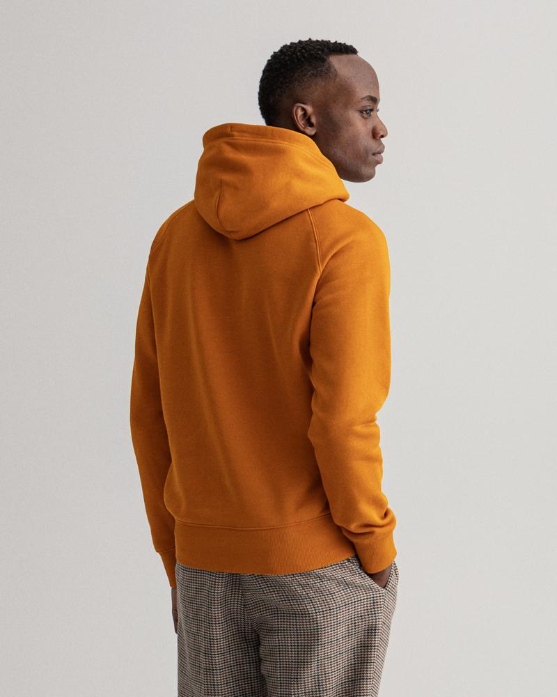 GANT Erkek Turuncu Regular Fit Sweatshirt