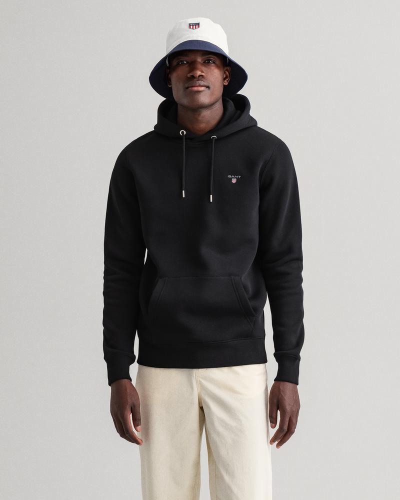 Gant Erkek Siyah Regular Fit Uzun Kollu Sweatshirt