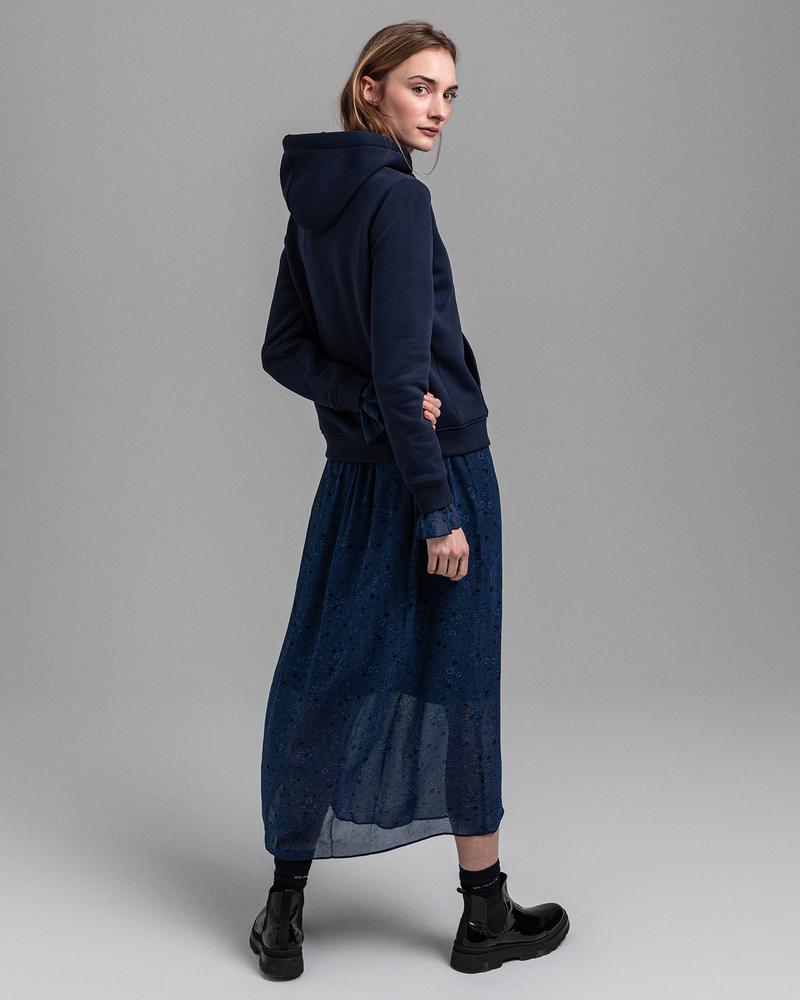 GANT Kadın Mavi Regular Fit Sweatshirt