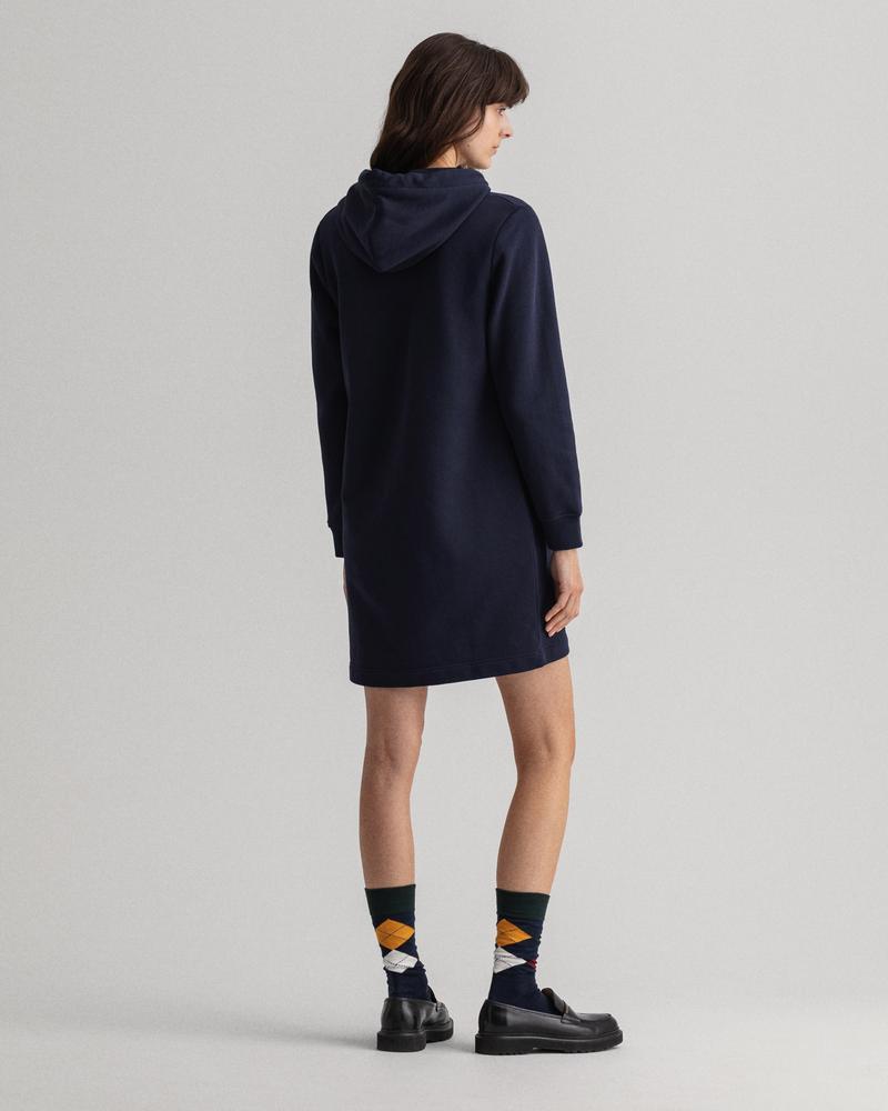 GANT Kadın Mavi Relaxed Fit Elbise
