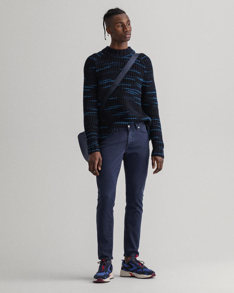 Gant Erkek Lacivert Extra Slim Fit Pantolon