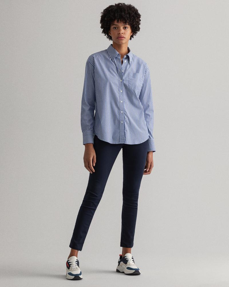 GANT Kadın Lacivert Skinny Fit Jean Pantolon