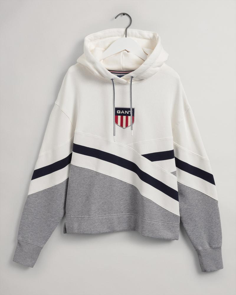 GANT Kadın Gri Oversize Fit Sweatshirt