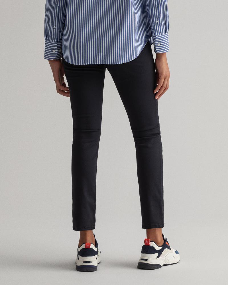 GANT Kadın Siyah Skinny Fit Jean Pantolon