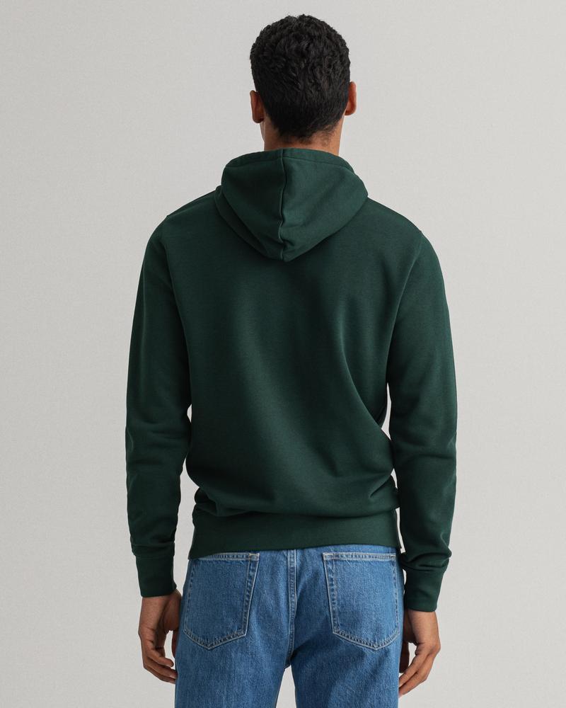 GANT Erkek Yeşil Baskılı Regular Fit Sweatshirt