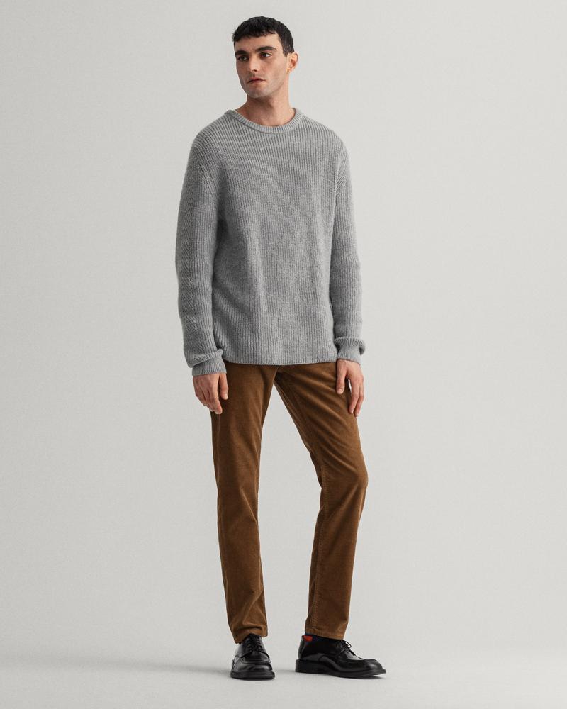 GANT Erkek Kahverengi Slim Fit Pantolon