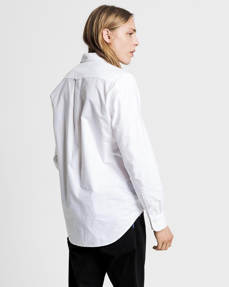 GANT Erkek Beyaz Regular Fit Oxford Gömlek