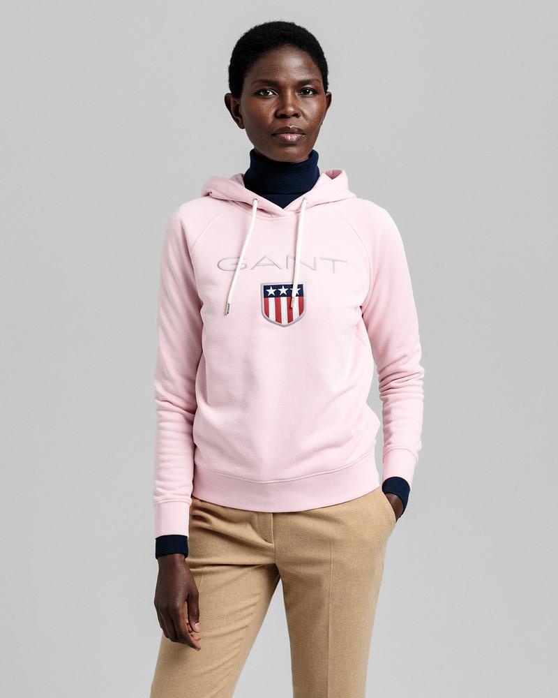 GANT Kadın Pembe Regular Fit Sweatshirt