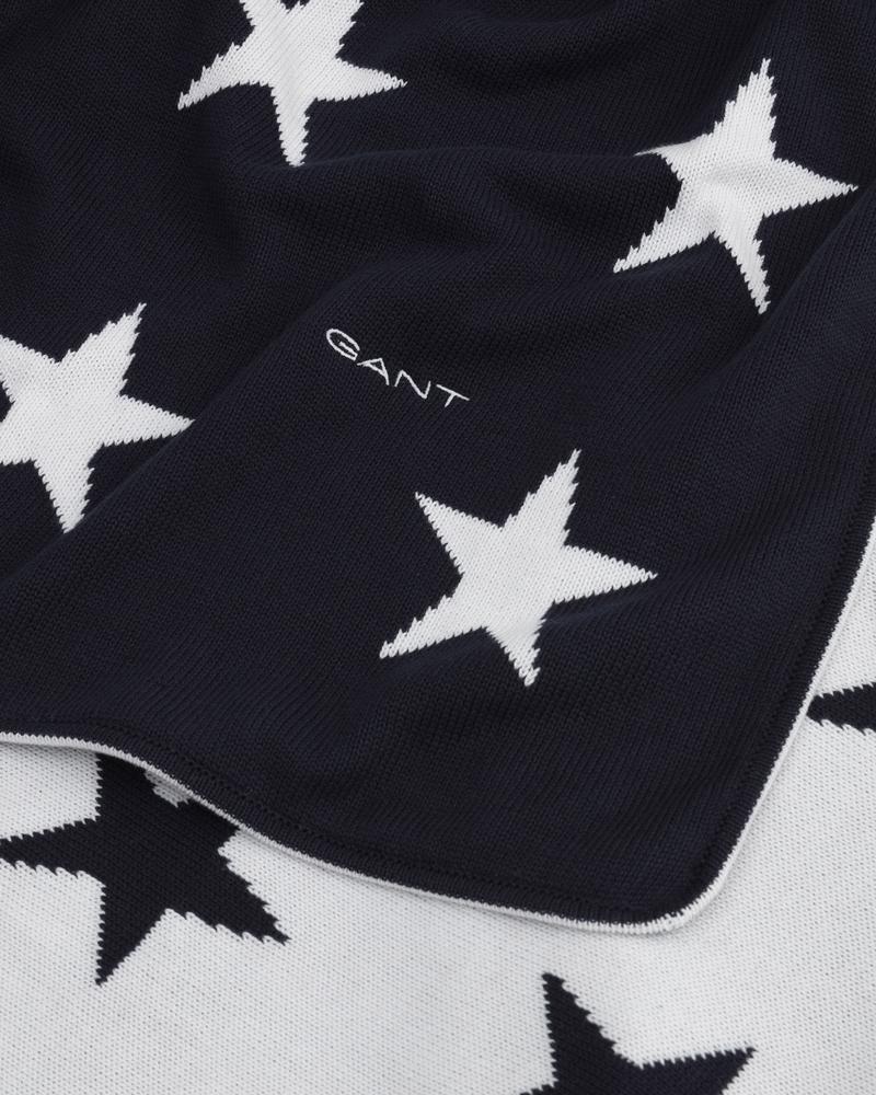 Gant Home Lacivert Koltuk Şalı